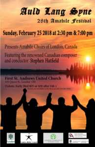Feb 25 2018 Amabile Concert poster